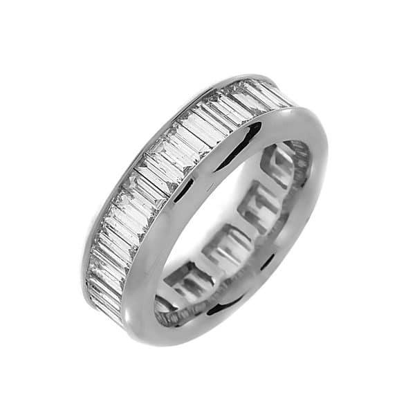 18 kt fehérarany körbe köves eternity 50 gyémánttal 1C978W856-1