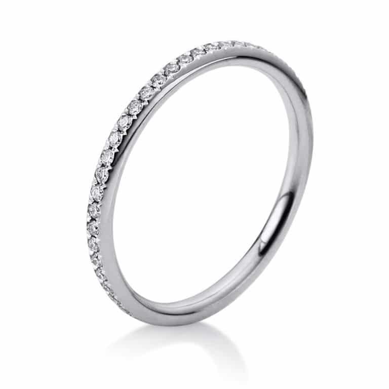 18 kt fehérarany körbe köves eternity 51 gyémánttal 1B832W855-1