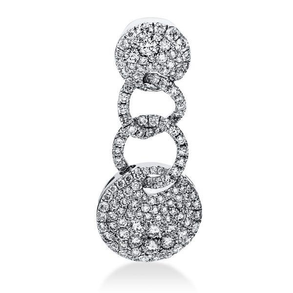 18 kt fehérarany medál 135 gyémánttal 3D996W8-1