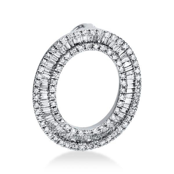 18 kt fehérarany medál 143 gyémánttal 3D919W8-1