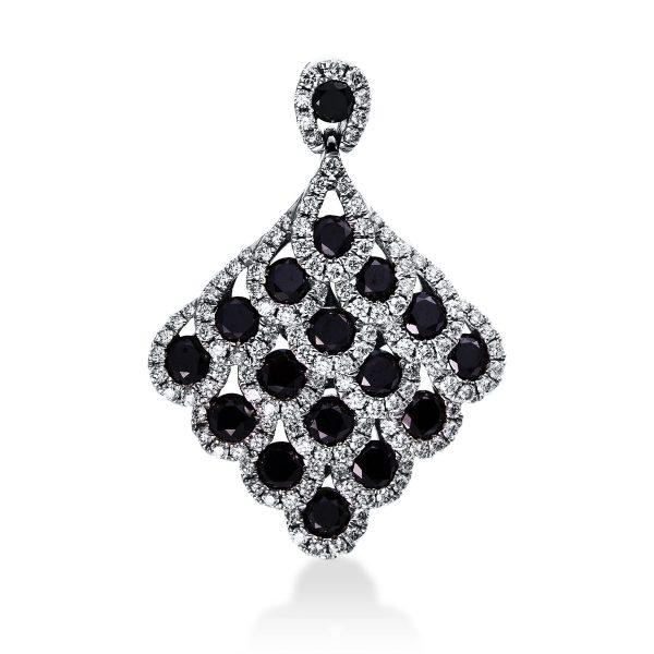 18 kt fehérarany medál 148 gyémánttal 3D390W8-1