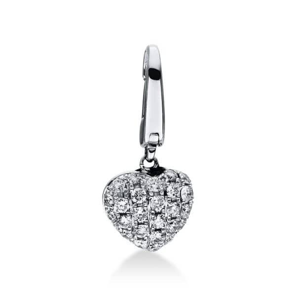 18 kt fehérarany medál 27 gyémánttal 3D926W8-1
