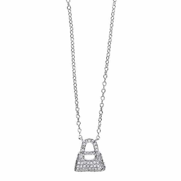 18 kt fehérarany nyaklánc 68 gyémánttal 4F464W8-1