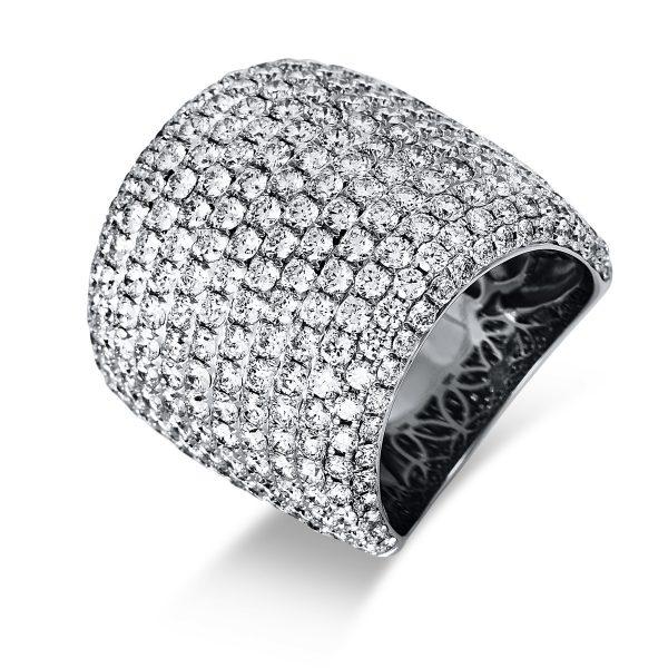 18 kt fehérarany pavé 292 gyémánttal 1P508W854-2