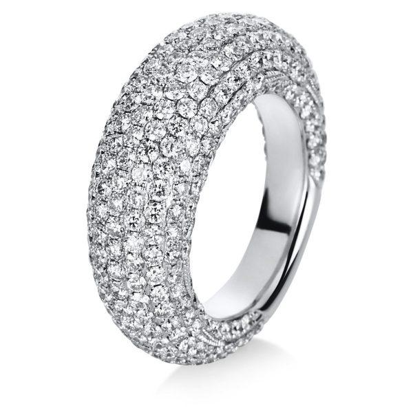 18 kt fehérarany pavé 329 gyémánttal 1C260W856-1
