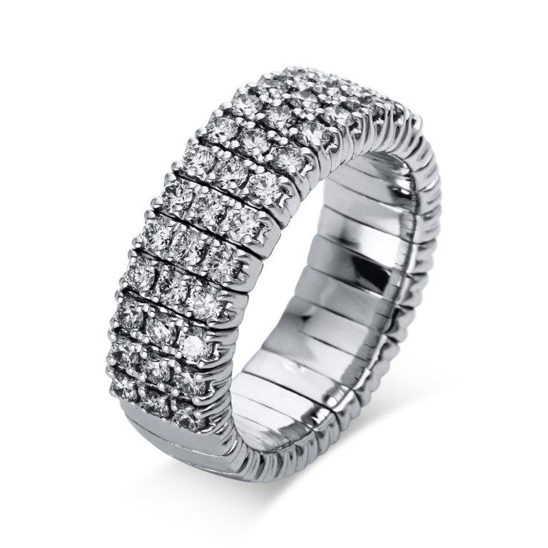 18 kt fehérarany pavé 39 gyémánttal 1N544W849-1