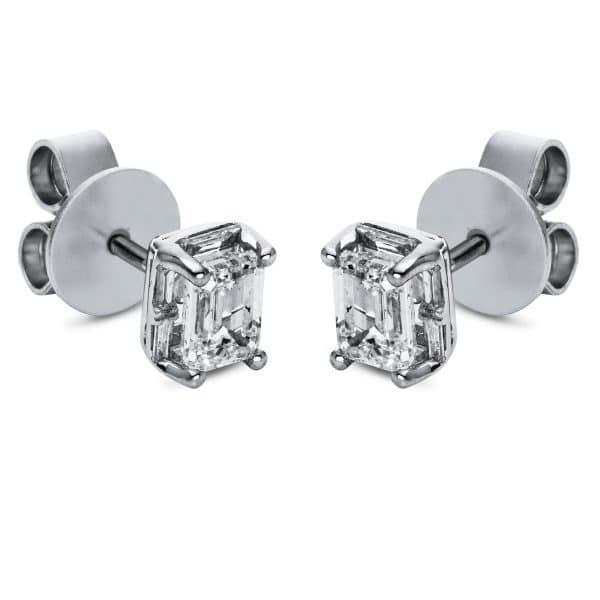 18 kt fehérarany steckeres 2 gyémánttal 2H697W8-1