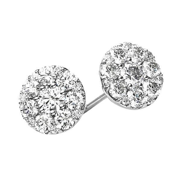 18 kt fehérarany steckeres 30 gyémánttal 2A331W8-1