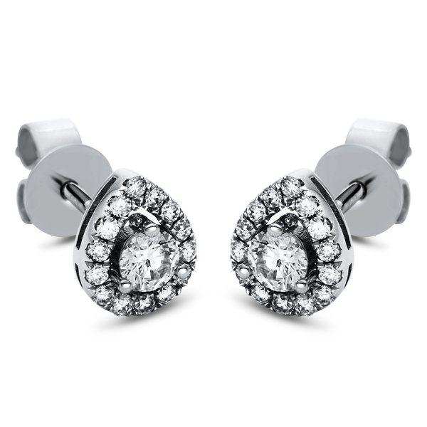 18 kt fehérarany steckeres 30 gyémánttal 2H857W8-1