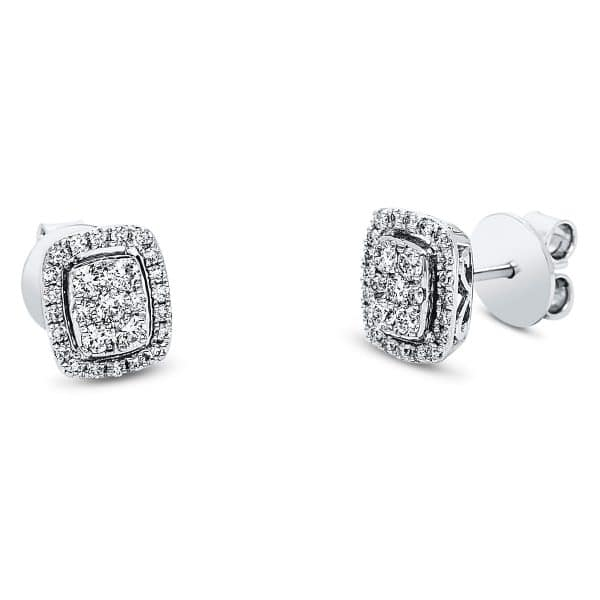 18 kt fehérarany steckeres 54 gyémánttal 2J549W8-1