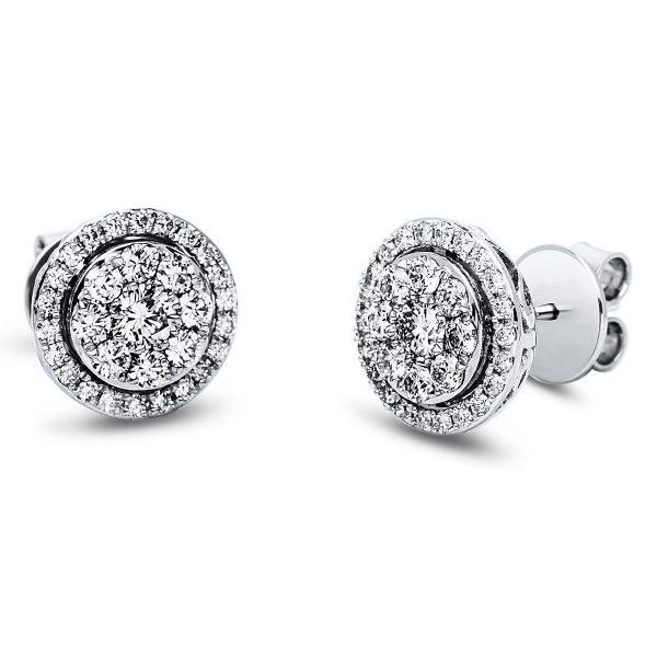 18 kt fehérarany steckeres 62 gyémánttal 2J547W8-1