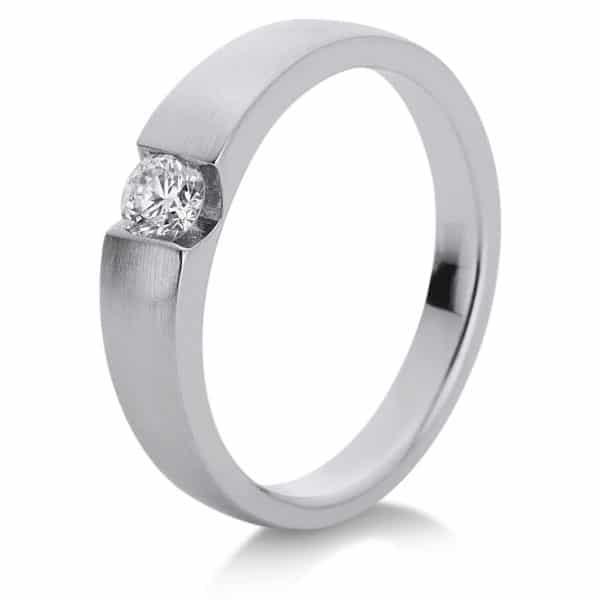18 kt fehérarany szoliter 1 gyémánttal 1A149W853-1
