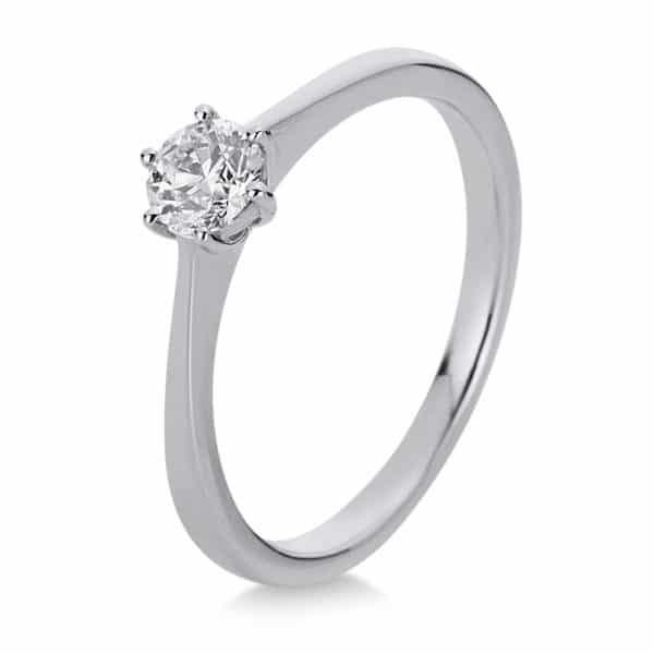 18 kt fehérarany szoliter 1 gyémánttal 1A333W853-2