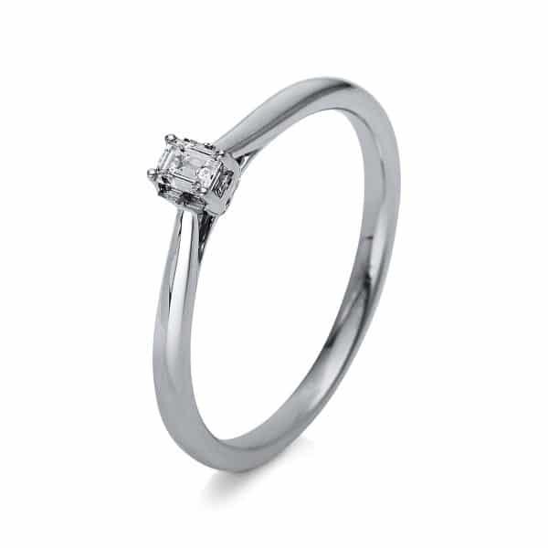 18 kt fehérarany szoliter 1 gyémánttal 1R876W853-2