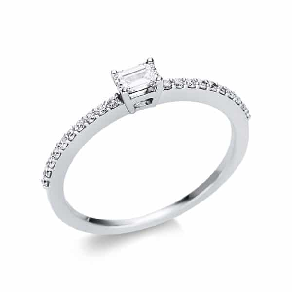 18 kt fehérarany szoliter oldalkövekkel 21 gyémánttal 1U620W854-7