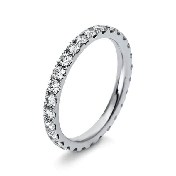 18 kt fehérarany több köves gyűrű 28 gyémánttal 1R909W854-4