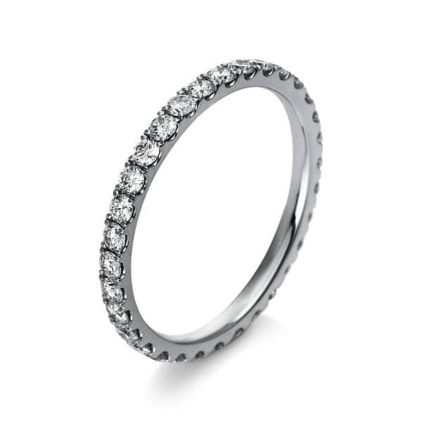 18 kt fehérarany több köves gyűrű 32 gyémánttal 1R906W854-1