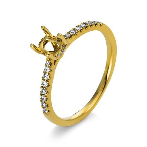 18 kt sárga arany foglalat 26 gyémánttal 1S177G853-1