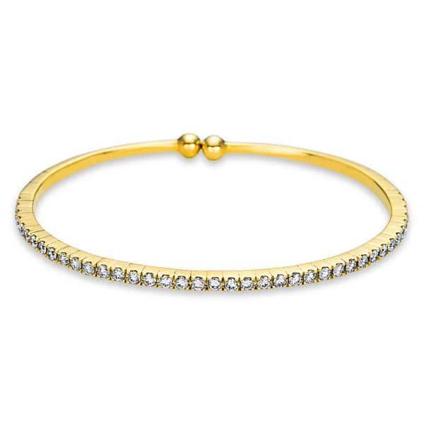 18 kt sárga arany karperec 40 gyémánttal 6A572G8-1