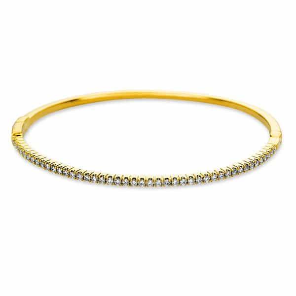 18 kt sárga arany karperec 45 gyémánttal 6A587G8-1