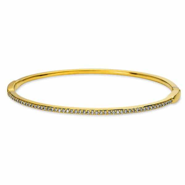 18 kt sárga arany karperec 51 gyémánttal 6A585G8-1