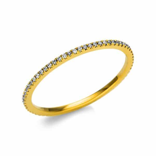 18 kt sárga arany körbe köves eternity 64 gyémánttal 1M957G851-1
