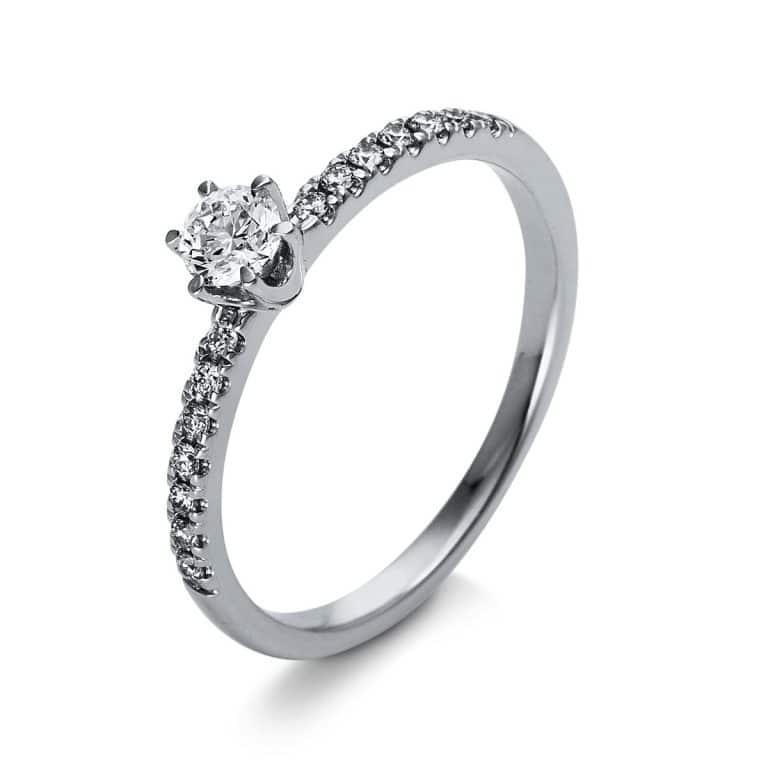 18 kt  szoliter oldalkövekkel 17 gyémánttal 1O262WP855-1