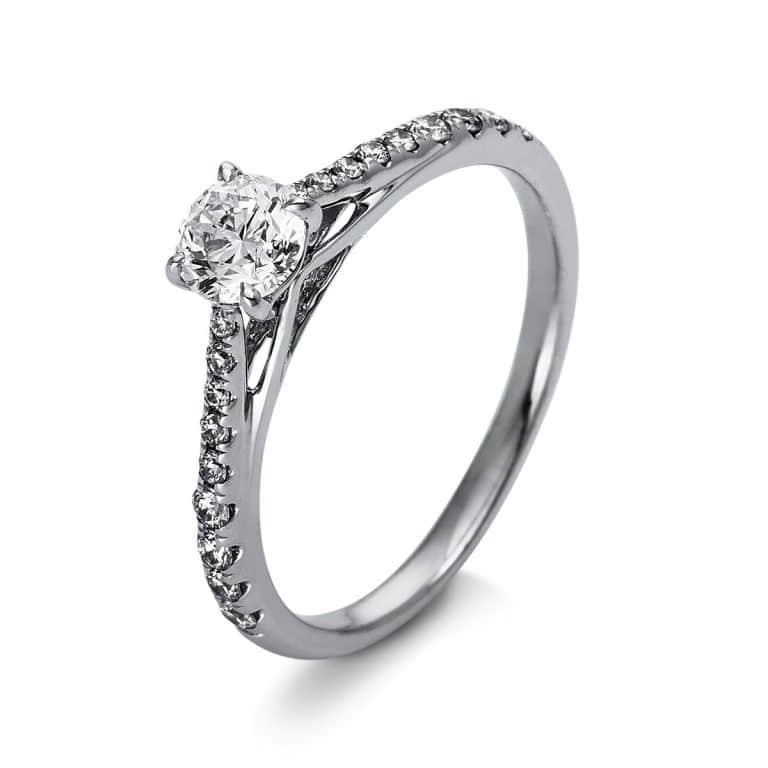 18 kt  szoliter oldalkövekkel 19 gyémánttal 1O269WP853-1