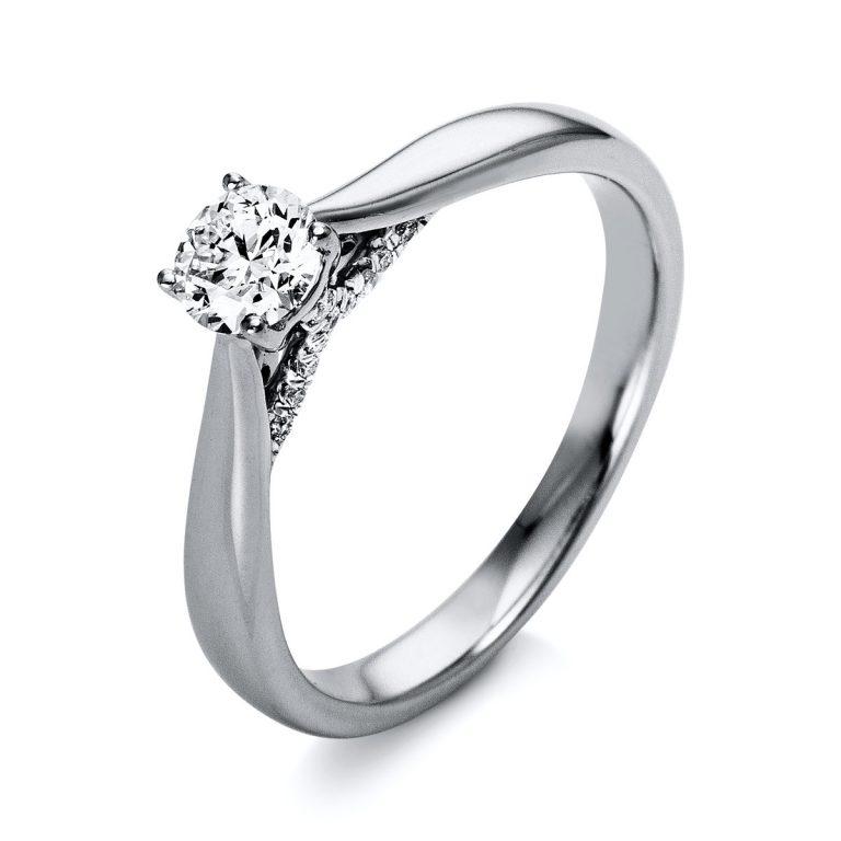 18 kt  szoliter oldalkövekkel 21 gyémánttal 1O283WP853-1