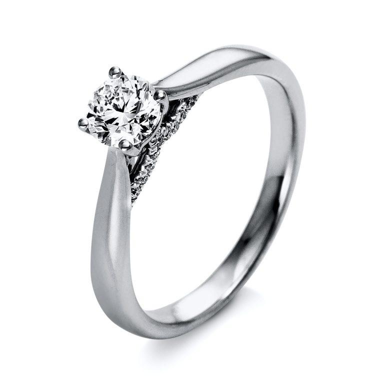18 kt  szoliter oldalkövekkel 21 gyémánttal 1O284WP853-1