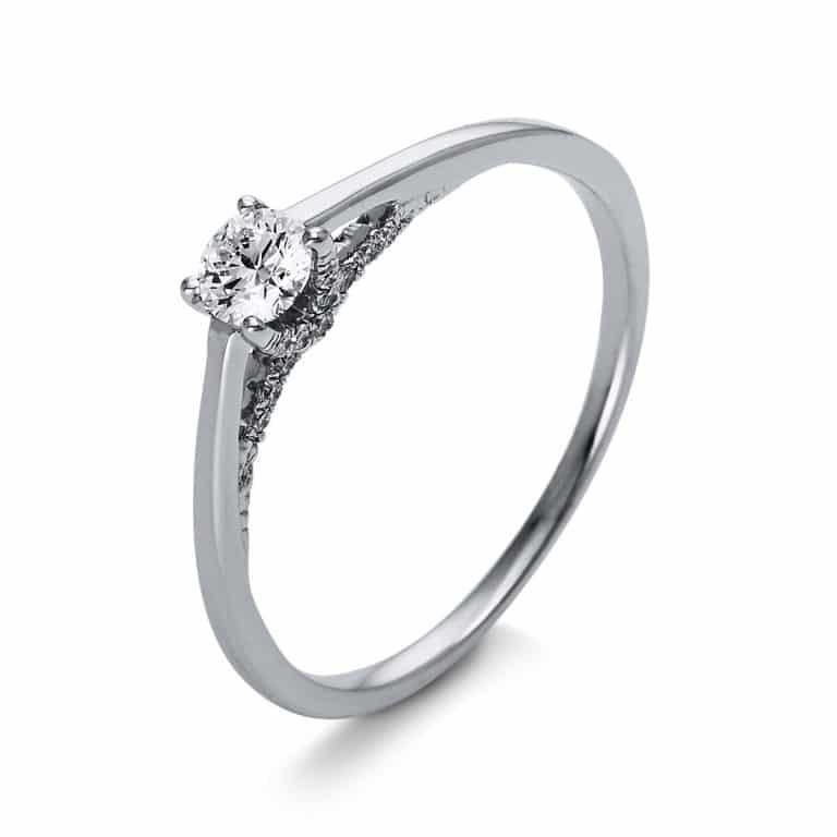 18 kt  szoliter oldalkövekkel 23 gyémánttal 1O265WP855-1