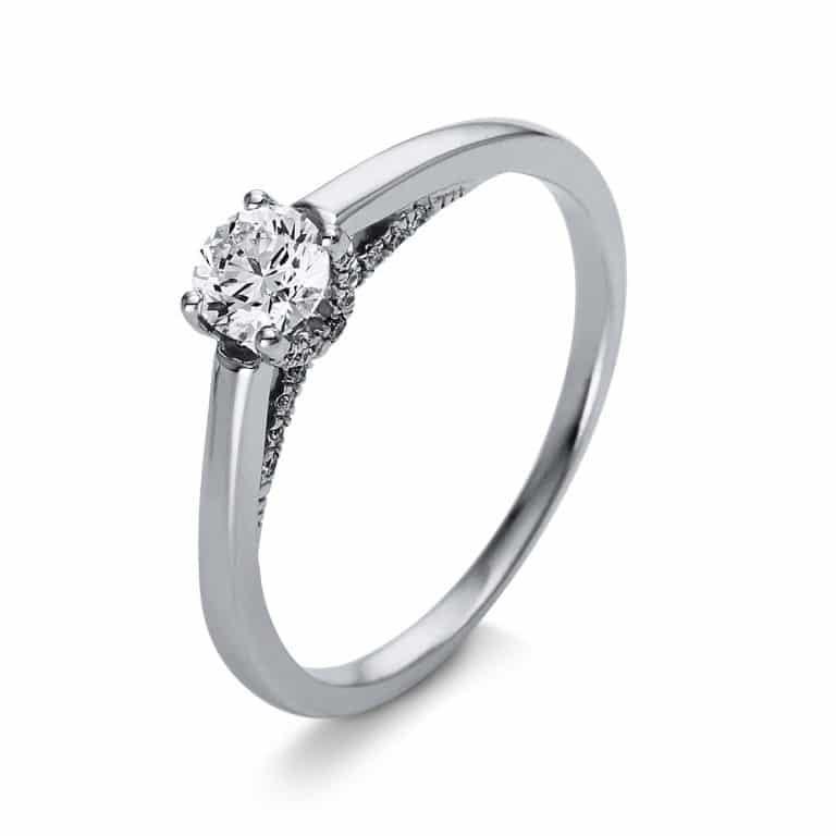 18 kt  szoliter oldalkövekkel 31 gyémánttal 1O266WP855-1
