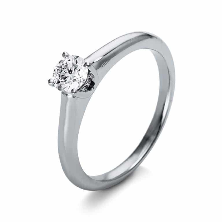 18 kt  szoliter oldalkövekkel 5 gyémánttal 1O257WP855-1