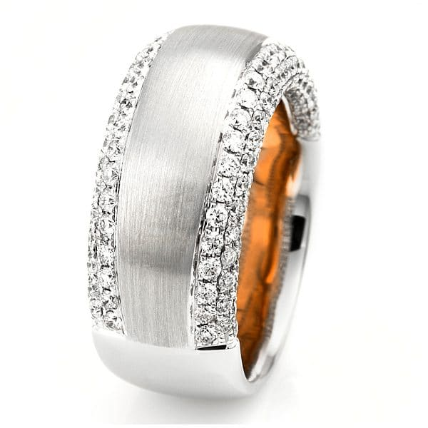 18 kt  több köves gyűrű 172 gyémánttal 1C406WR858-1