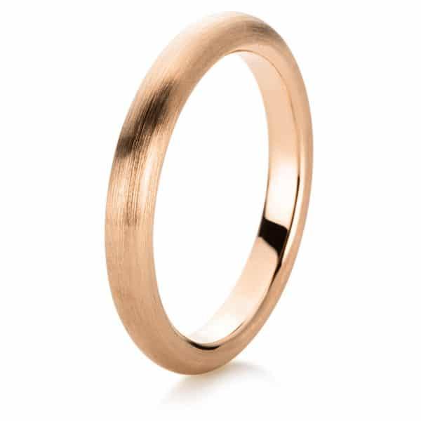 18 kt vörös arany karikagyűrű  1A365R854-1
