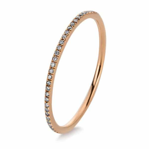 18 kt vörös arany körbe köves eternity 63 gyémánttal 1C352R853-8