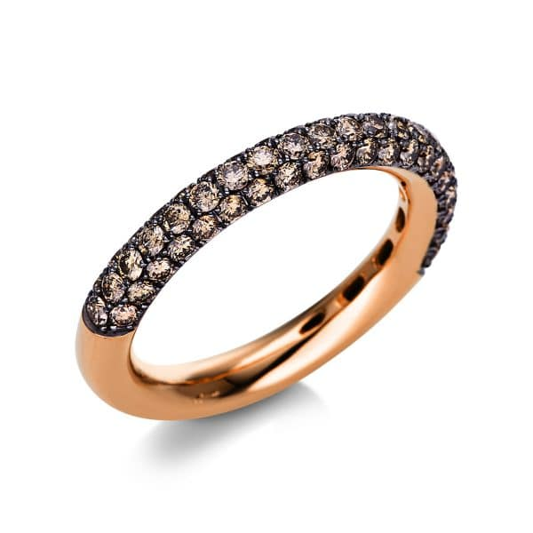 18 kt vörös arany pavé 61 gyémánttal 1S712R855-1