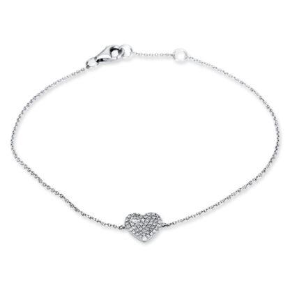 18 kt white gold bracelet with 47 diamonds 5B990W8-1