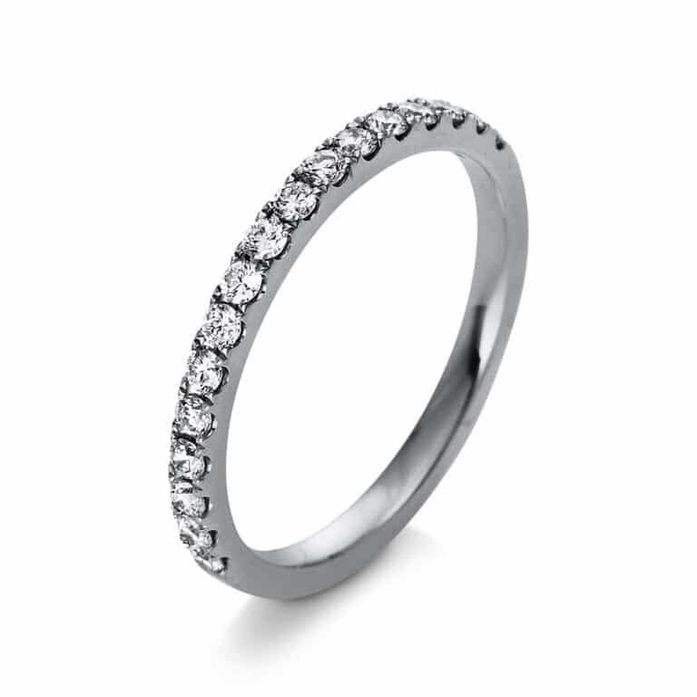 14 kt fehérarany félig köves eternity 18 gyémánttal 1R380W456-1