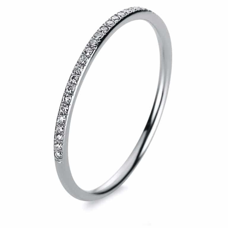 14 kt fehérarany félig köves eternity 31 gyémánttal 1B821W454-12