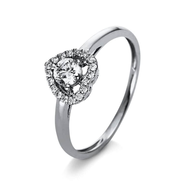 14 kt fehérarany szoliter oldalkövekkel 19 gyémánttal 1R350W454-2