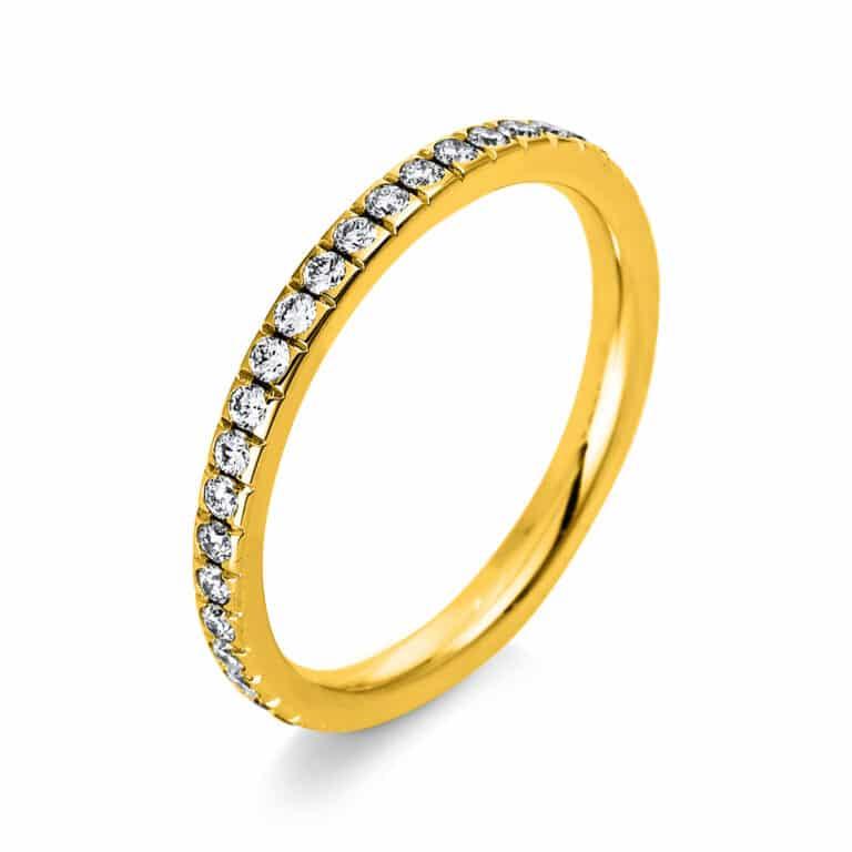 14 kt sárga arany körbe köves eternity 40 gyémánttal 1P944G454-1