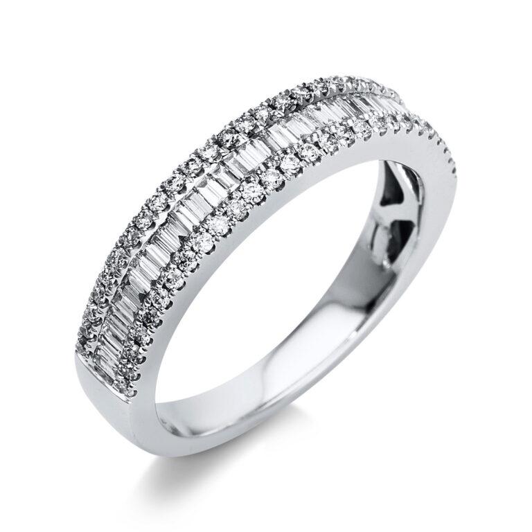 18 kt fehérarany félig köves eternity 87 gyémánttal 1T272W854-3