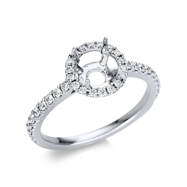 18 kt fehérarany foglalat 38 gyémánttal 1T387W854-4
