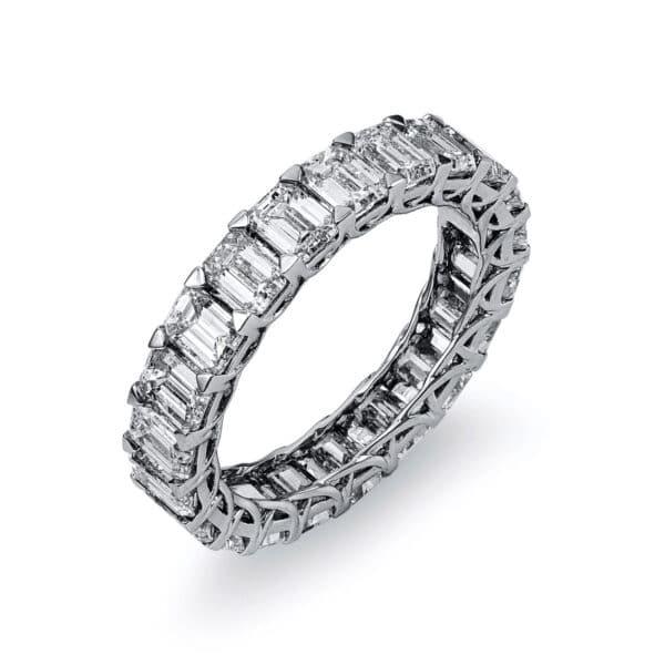 18 kt fehérarany körbe köves eternity 21 gyémánttal 1J664W854-3