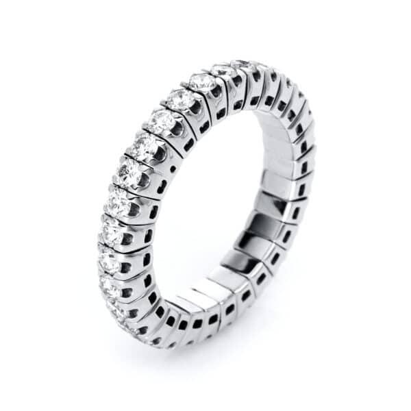 18 kt fehérarany körbe köves eternity 30 gyémánttal 1J195W853-16