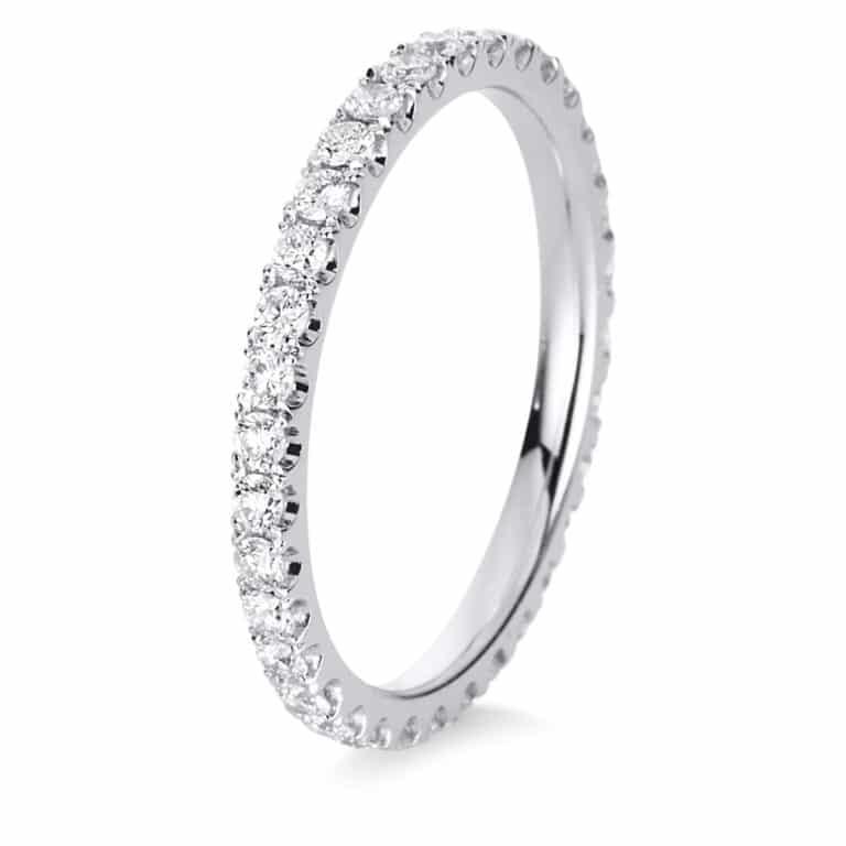 18 kt fehérarany körbe köves eternity 34 gyémánttal 1C418W854-1
