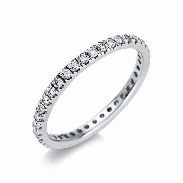 18 kt fehérarany körbe köves eternity 39 gyémánttal 1T834W853-3