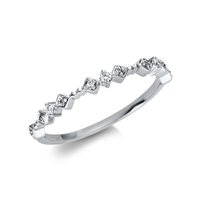 18 kt fehérarany  11 gyémánttal 1U471W854-2