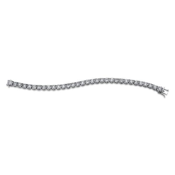 14 kt fehérarany karkötő 32 gyémánttal 5C313W4-1